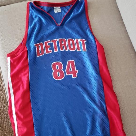 sports shoes 9b8a1 587d9 Detroit Pistons Chris Webber jersey